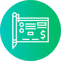 Service Icon Ecommerce Writing